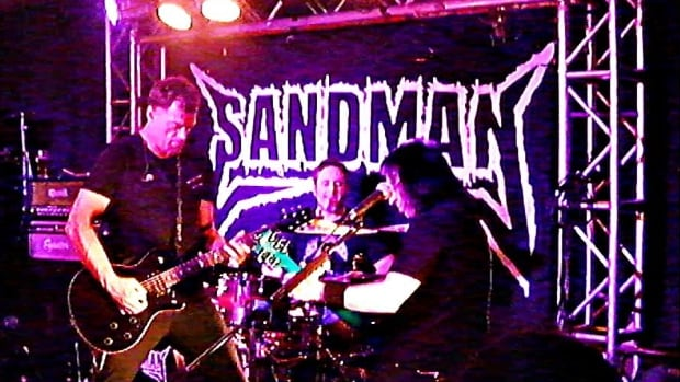 Metallica tribute band Sandman is made up of Paul Fonseca (bass/vocals), Rickferd Van Dyk (vocals/guitar), Brent Niemi (drums) and Joe Di Taranto (guitar/vocals).