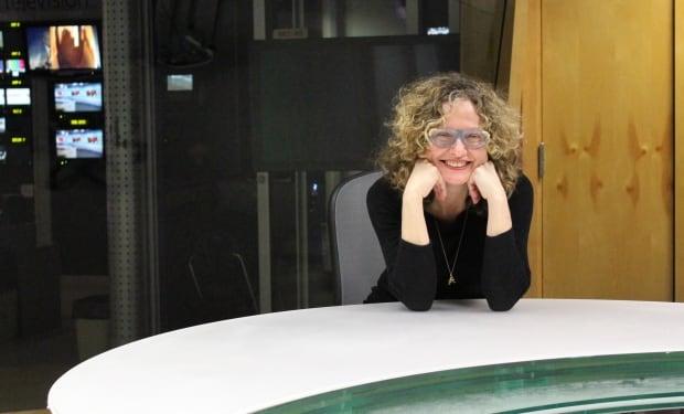 Monique Polak writer-in-residence entrance