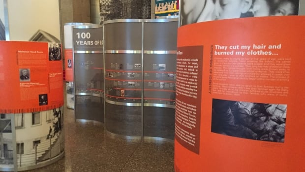 100 Years of Loss is an interactive walk-through of Canada's residential school system.
