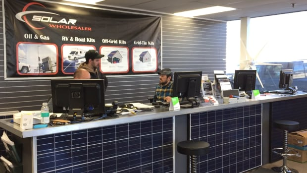 The Solar Store bills itself as having the first solar showroom in Western Canada if not the entire country.