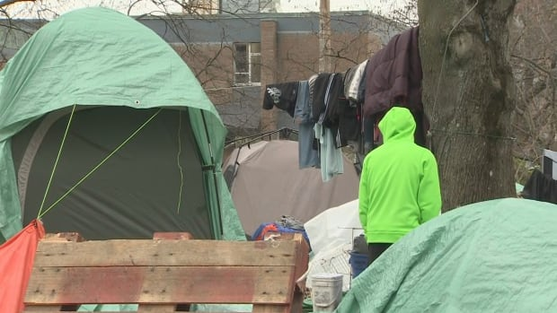 Concerns are being raised after a 16-year-old girl was found to be living in a tent city in Victoria while under ministry care.