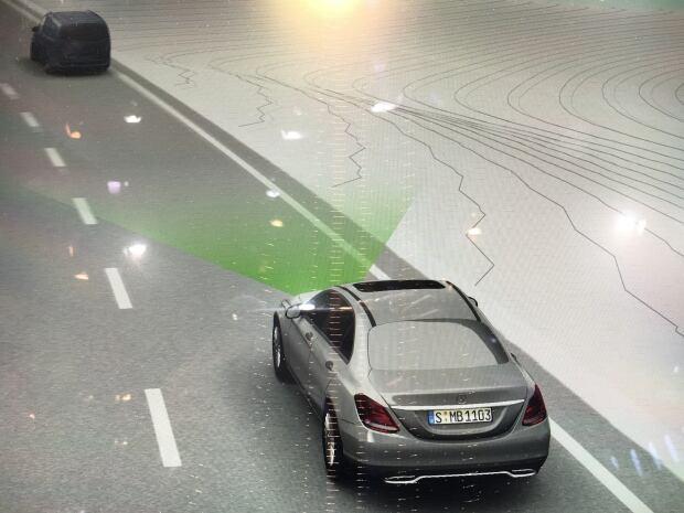 Mercedes radar