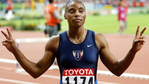 American sprinter Kelli White was stripped of her 2003 world track and field championships gold medals after testing positive for a drug, Modafinil, commonly used to treat narcolepsy.