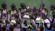 Saskatchewan Rush - Lacrosse - time out