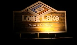 long lake sign