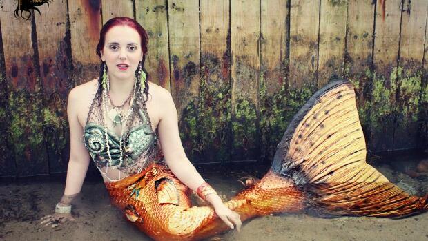 Stephanie Brown or Raina the Mermaid is co-owner of Halifax Mermaids.