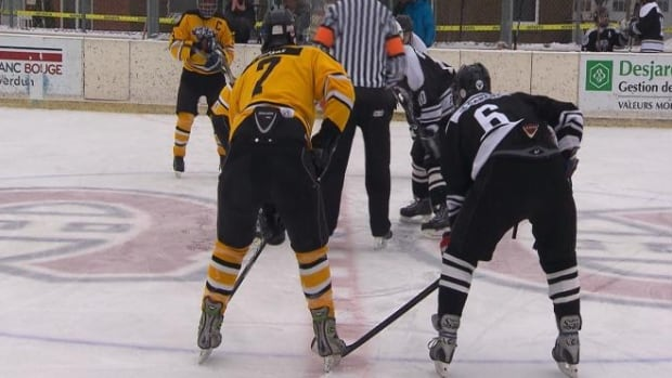 The first LFA Winter Classic kicked off in Bleu-Blanc-Bouge rink in Willibrord Park, Verdun.