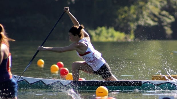 Canoeist Hannah MacIntosh from Dartmouth, N.S. is thrilled that women's canoeing may have events at the Olympic Games beginning in 2020.