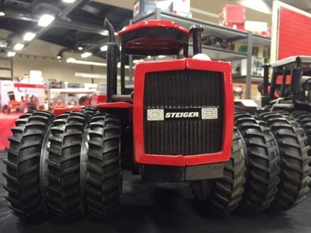 Saskatoon - farm toy - tractor