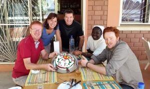 Quebec humanitarian volunteers in Burkina