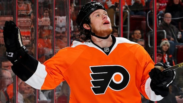 Flyers centre Ryan White was ejected from Sunday night's game at Detroit 2:20 into the first period and assessed a match penalty for a hit to the head of Red Wings forward Tomas Jurco.  A match penalty means the NHL will automatically review the hit. White was suspended five games in April 2013 while playing for Montreal for an illegal check to the head of Philadelphia defenceman Kent Huskins.