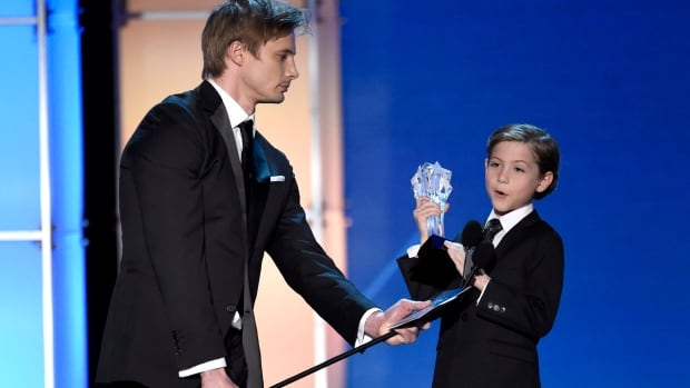 Jacob Tremblay, right, delighted the crowd with his acceptance speech at the Critics' Choice Awards earlier this month. The young Vancouver actor is set to appear at the Oscars as a presenter.