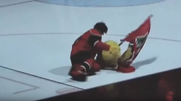 It was a rough night for both Halifax Mooseheads mascot Hal and the team at its Jan. 9 game.