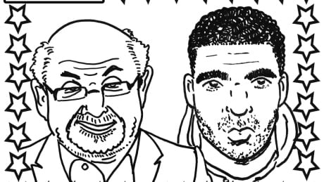 drake coloring pages - there is a drake colouring book because of course there is