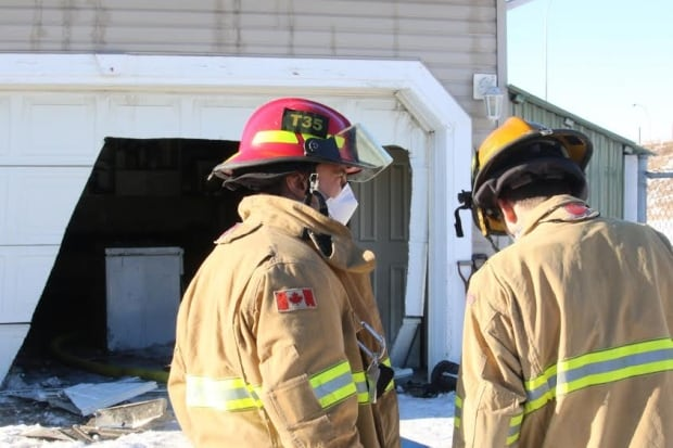 Arbour lake suspicious fire