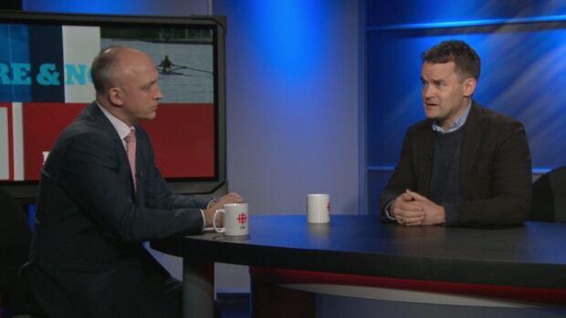David Cochran and Seamus O'Regan