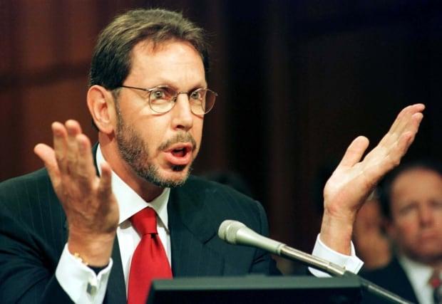 LAWRENCE ELLISON CEO OF ORACLE TESTIFIES BEFORE SENATE JUDICIARY COMMITTEE.