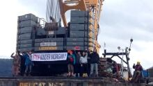 kinder Morgan protesters arrested