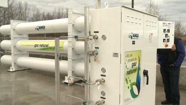 The yogurt will be converted to natural gas at the municipality's biomethane plant.