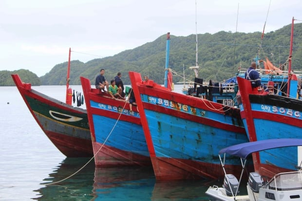 Palau Boat Bust