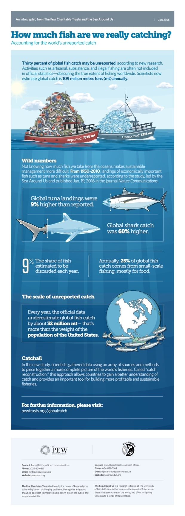 What's the catch infographic