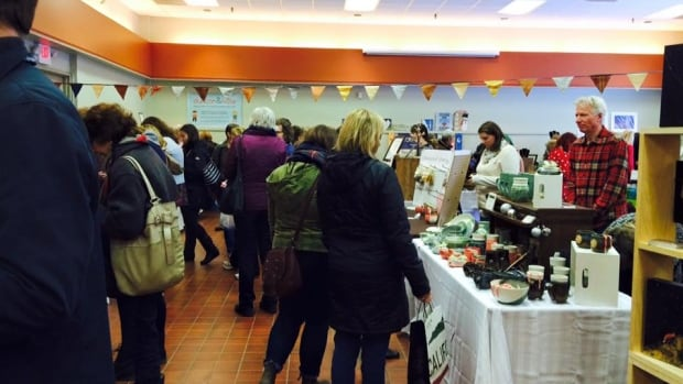 The Farm Centre in Charlottetown was busy in Nov. 2015 during a Christmas market by P.E.I. Etsy artisans.