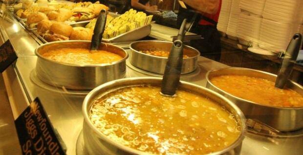 Newfoundland jiggs dinner soup