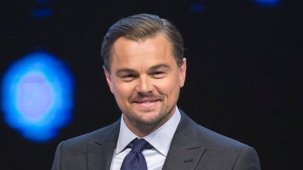 Leonardo DiCaprio decried 'the corporate greed of the coal, oil and gas industries' during the World Economic Forum in Davos, Switzerland.