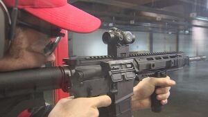 Toronto police C8 weapon range