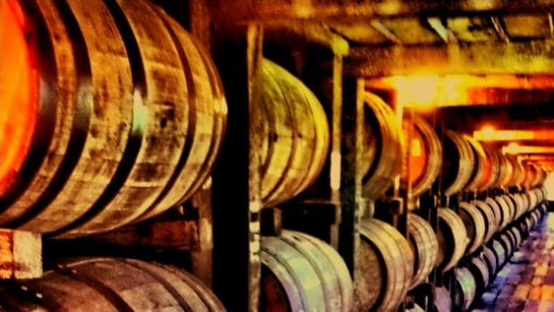 Right now these barrels hold delicious whiskey, but who knows? Maybe they could soon be filled with delicious beer.