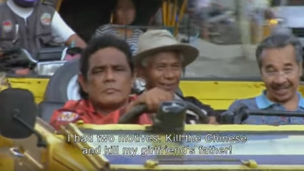In The Act of Killing, Indonesian genocidaires repeatedly boast of their killings during the 1965-1966 genocide.