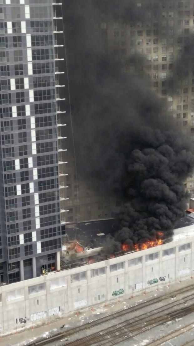 Yonge Esplanade Fire