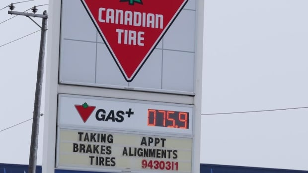 Gas prices are down again at many stations in Winnipeg.