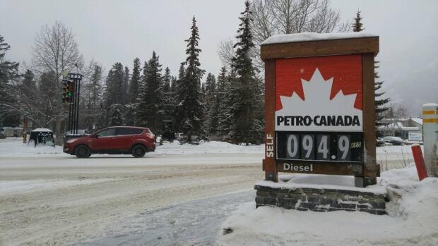 Banff Gas Prices