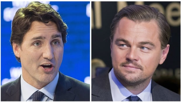 Prime Minister Justin Trudeau attended a dinner with Leonardo DiCaprio in Davos, Switzerland, just hours after the Oscar-nominated actor called the coal, oil and gas industries greedy. Actor Kevin Spacey and singer Bono were also at the event.