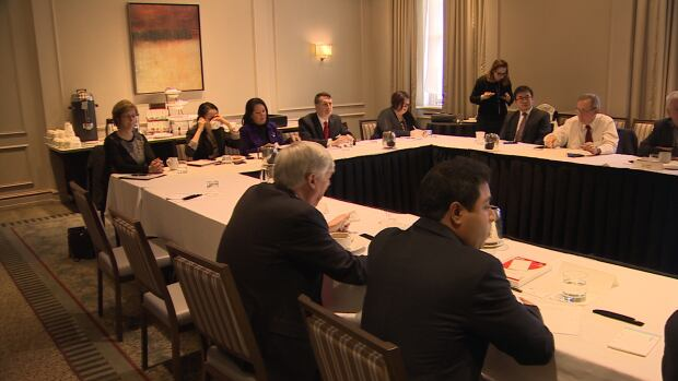 Government and company officials met during three Trans-Pacific Partnership consultation sessions in Halifax on Wednesday.