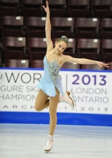 Nova Scotia's Stephie Walmlsey to compete at figure ...