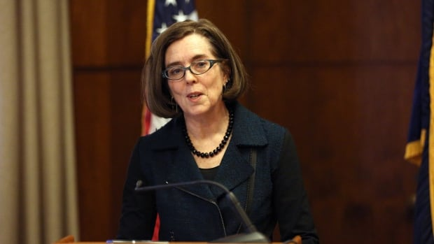 Oregon Gov. Kate Brown outlined her 2016 policy agenda for the state in Salem on Wednesday, but also talked about the standoff at Malheur National Wildlife Refuge.
