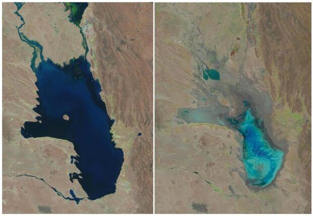 Bolivia Evaporated Lake