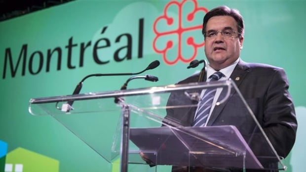 "Denis Coderre has called the Energy East pipeline ""risky"" and questioned its economic benefit to Montreal."