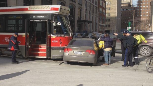 Streetcar vs. car