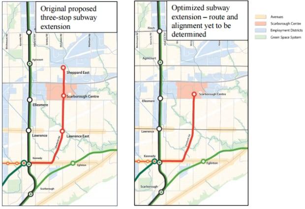 scarborough subway map