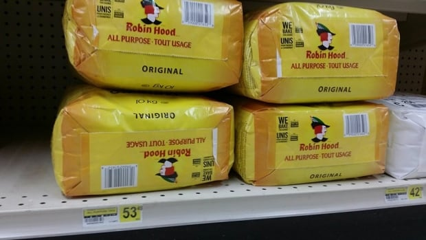 A 10-kilogram bag of flour was selling for $53.49 at Tulita, N.W.T.'s Northern Store earlier this month when food was flown in before the winter road opened to heavy vehicles.