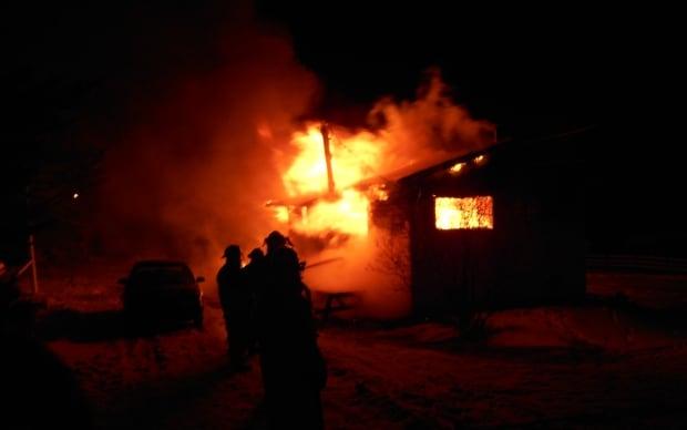 Bunyan's Cove fire