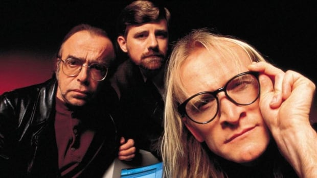 The Lone Gunmen say that it was eerie to be back on The X-Files set.