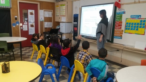 Refugee children arriving in the Saint John region are beginning their education at a special language centre at Prince Charles School.