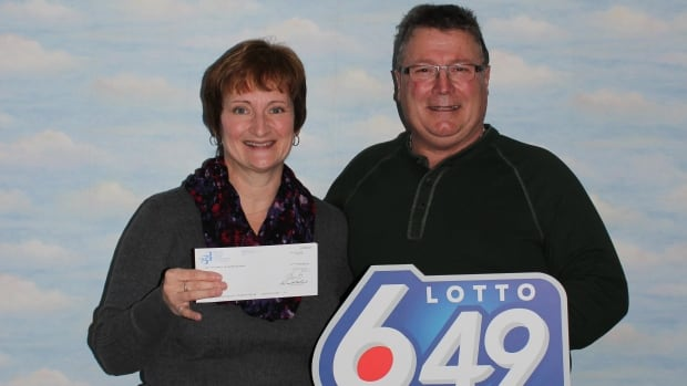 Darrell and Wendy Penner took home a check for $5 million after buying a ticket with the Jan. 13 winning numbers.