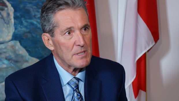 Brian Pallister, leader of the Manitoba Progressive Conservatives, is up in the polls. The election in the province is scheduled for Apr. 19.
