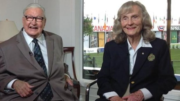 Ron and Marg Southern, shown in this file photo, founded the internationally-recognized show jumping venue Spruce Meadows in 1975.
