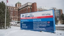 ottawa hospital carling avenue emergency department exterior shot